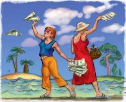туризм и деньги