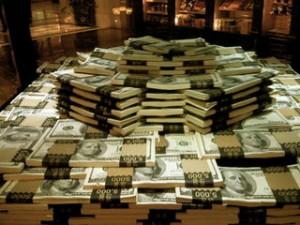 много очень много много денег